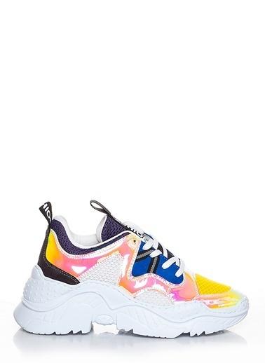 Efem Deri Sneakers Sarı
